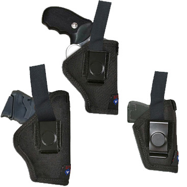 In-The-Pants Holster w Pull Thru (Various Sizes) Nylon