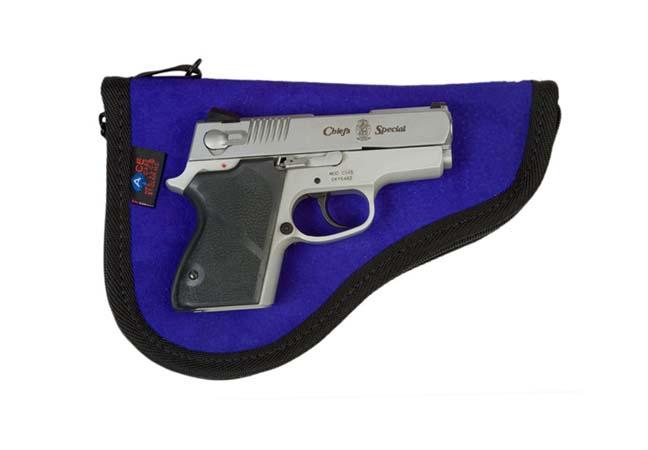 Compact Autos Pistol Case - Leather