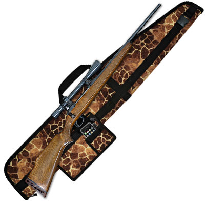 Scoped Rifle Case w Acc Pack (5 Sizes, Various Colors)