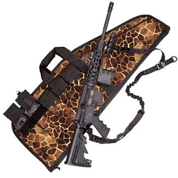 Deluxe Heavy-Duty AR Case (5 Sizes) Giraffe Print