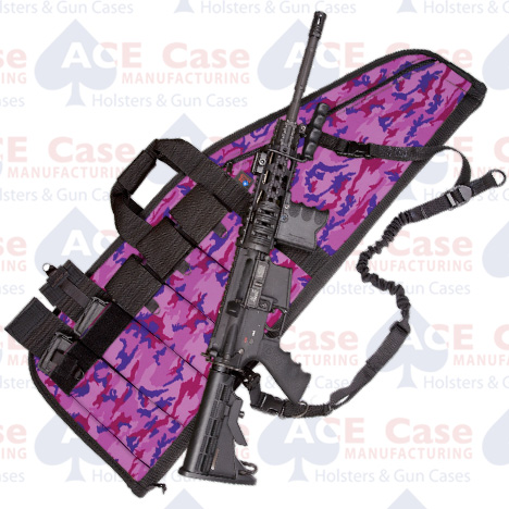 Deluxe Heavy-Duty AR Case (5 Sizes) Candy Camo