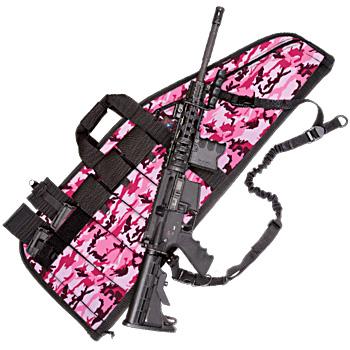 Deluxe Heavy-Duty AR Case (5 Sizes) Pink Camo