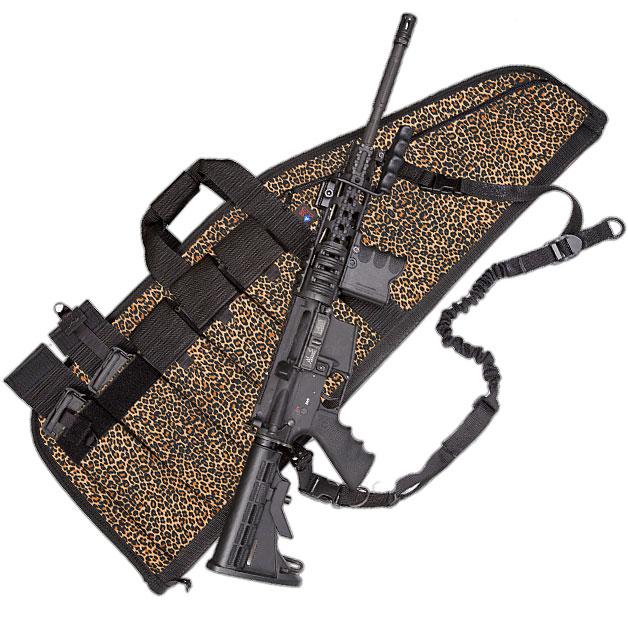 Deluxe Heavy-Duty AR Case (5 Sizes) Baby Leopard