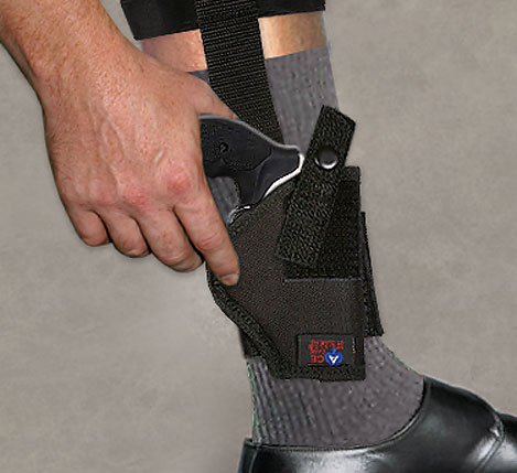 Ankle Holsters - Nylon - (Right or Left - 5 Sizes)