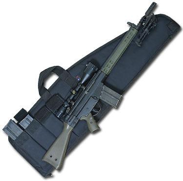 Heavy Duty Assault Rifle Case (8 Sizes) Black Nylon