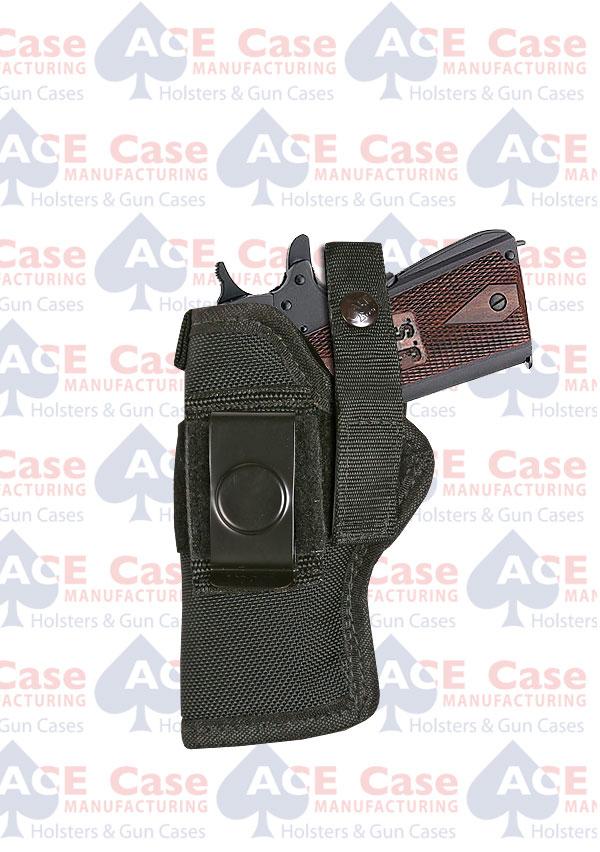 Belt & Clip Holsters (Various Sizes) Black Nylon