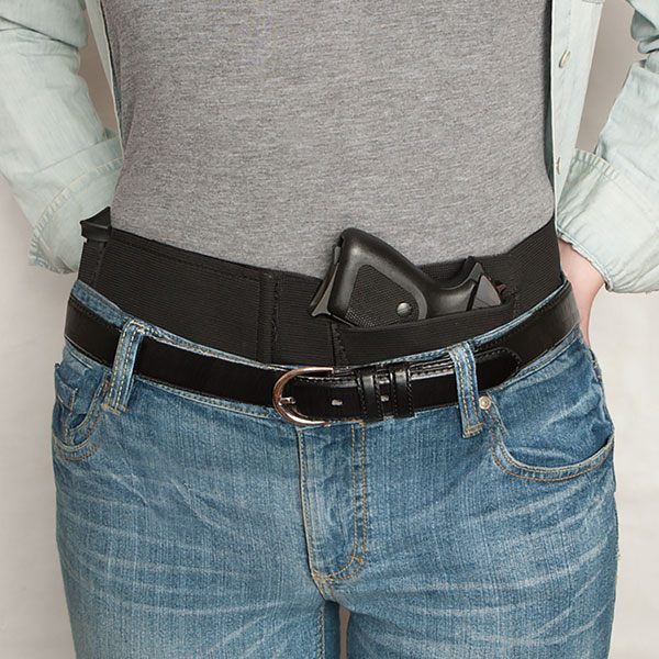 WaistBand Conceal Carry Holster (4 Sizes) Black