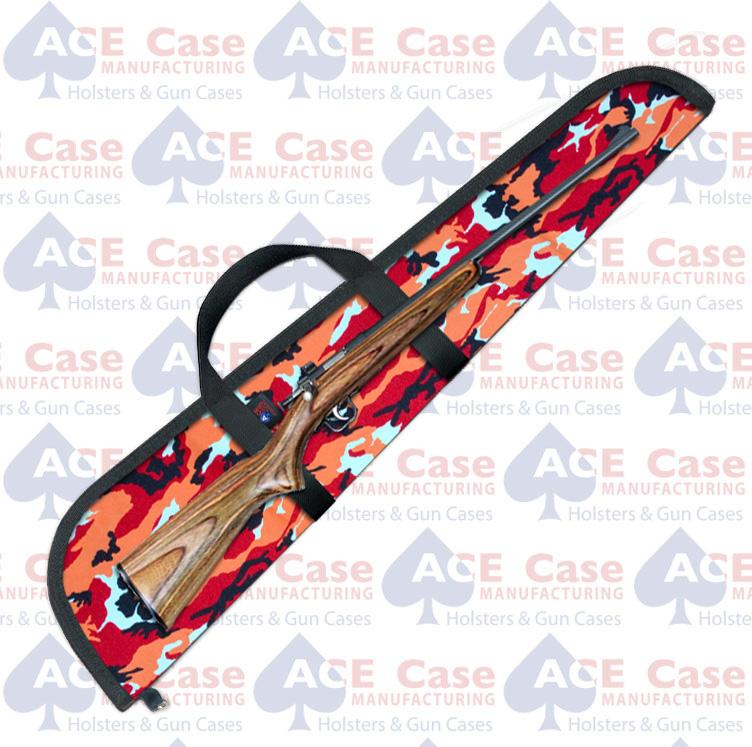 Cricket .22 Rifle Case - Tangerine Camo