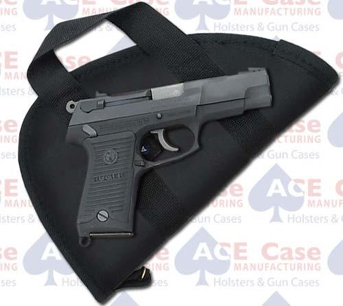 45 Autos Pistol Case with Handles - Nylon