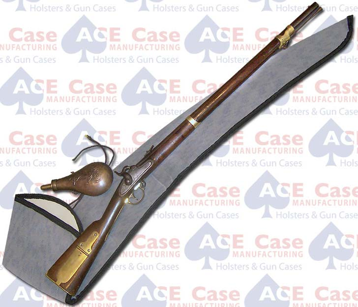 Sleeve Type String Tie Case for Muskets - Fabric