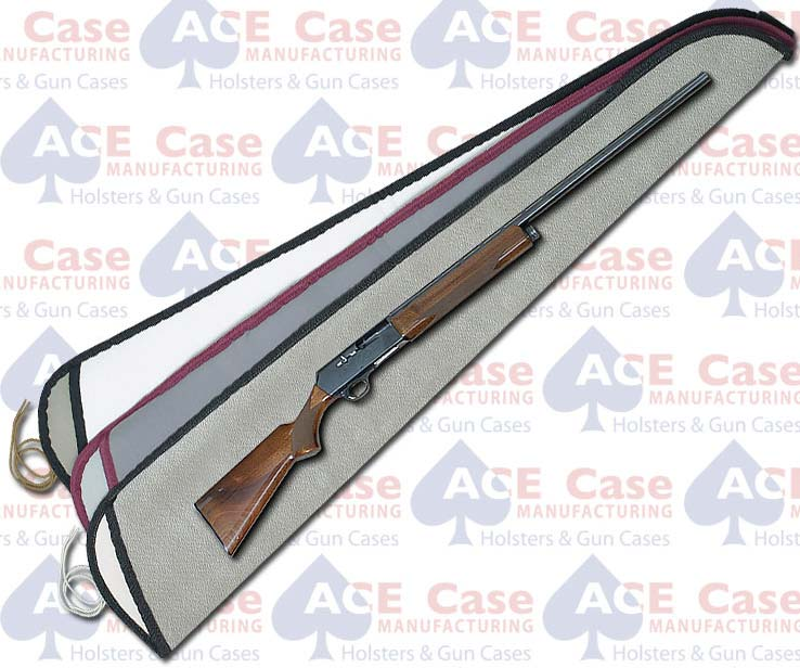 Sleeve Type String Tie Case for Shotguns - Fabric