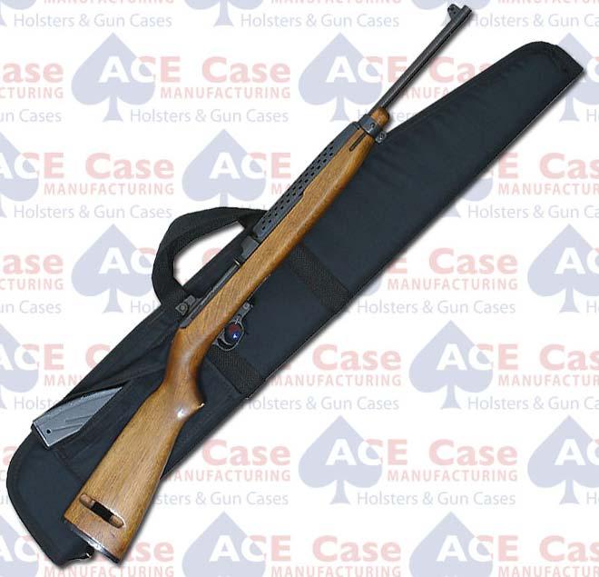 "M1 Carbine Rifle Case (7""x38"") Black Nylon"