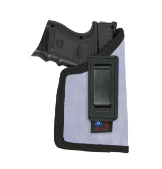 ITP Holster (Compact 9mm with LASERS) Various Colors in Suede