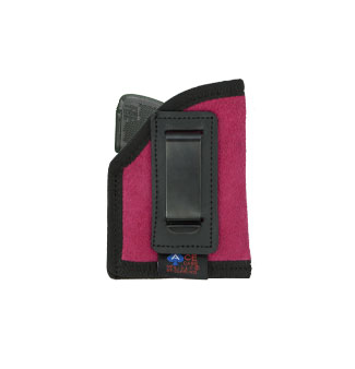 ITP Holster (22-25 Small Autos with LASERS) Various Colors in Suede