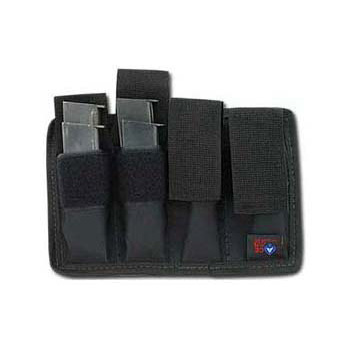 Magazine Pouch - 4 Pack (4 double-stack or 8 straight)