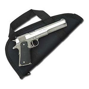 6.5 inch Barrel Pistol Case with Handles - Nylon