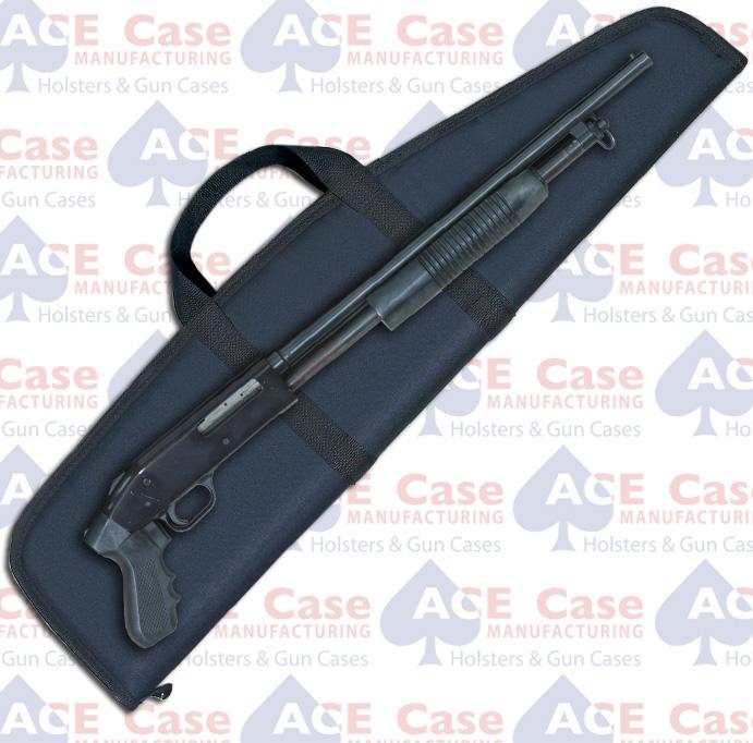 Pistol Grip Shotgun Case - Black Nylon