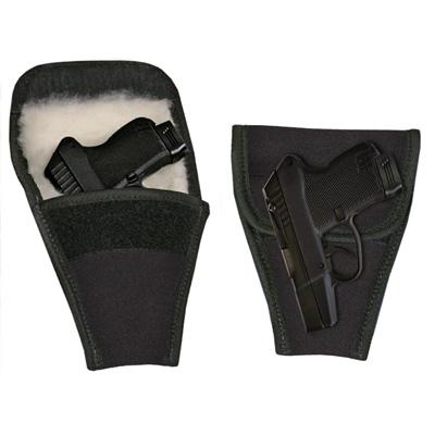 Ladies Purse Pistol Gun Holster - Jet Black Nylon