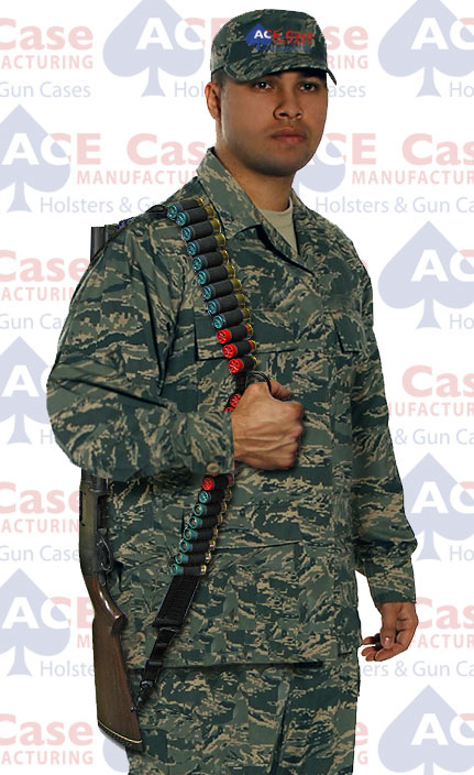 Shotgun Sling with Gripping Ring and Ammo Loops