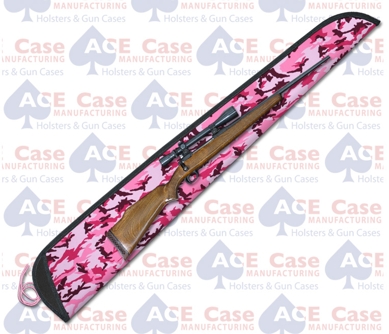 Sleeve Case for Rifles - Pink Camo