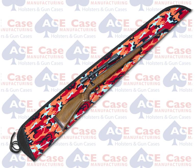 Sleeve Case for Rifles - Tangerine Camo