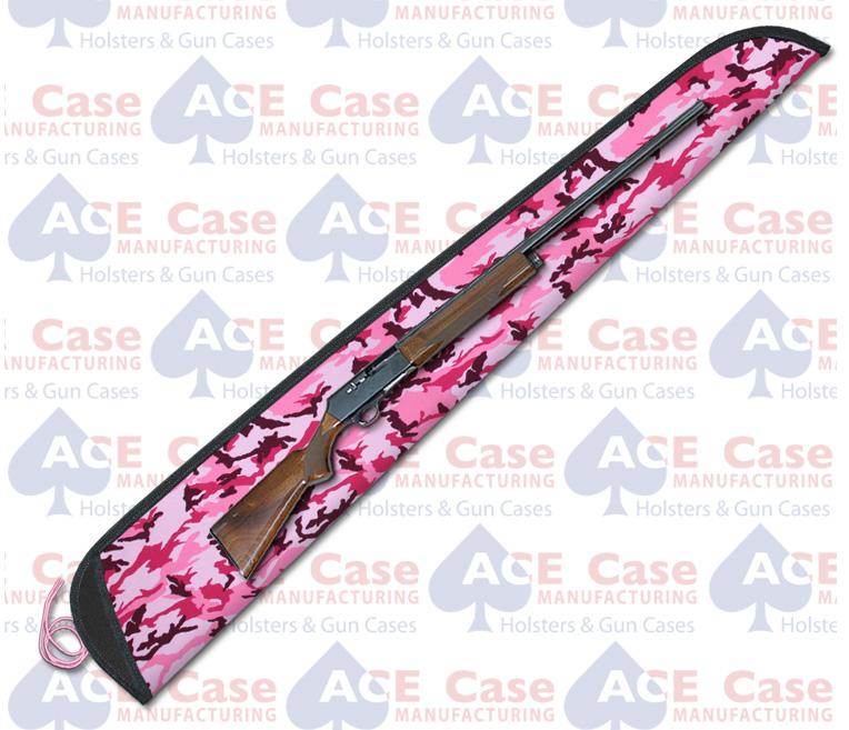 Sleeve Case for Shotguns - Pink Camo