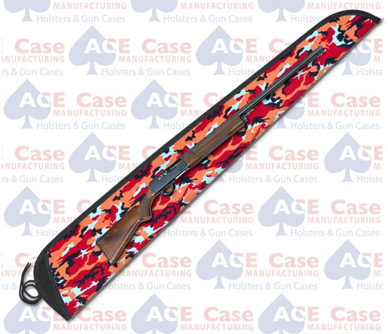 Sleeve Case for Shotguns - Tangerine Camo