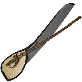 Sword Case with Zipper - Fabric