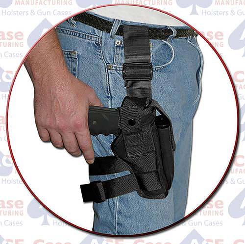 Tactical Thigh Holster (Various Sizes) Nylon