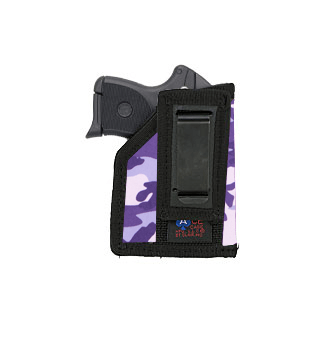 Tuck-able Holster (22-25 Small Autos with LASERS) Various Colors in Nylon