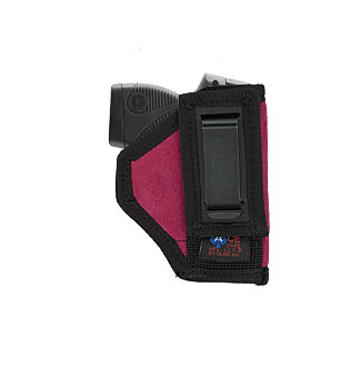 """Tuck-able Holster (2"""" Snub Revolvers) Various Colors in Suede"""