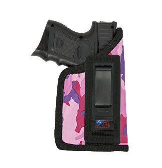 Tuck-able Holster (Compact GlkS with LASERS) Various Colors in Nylon