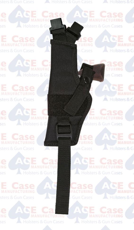 Vertical Shoulder Holster Only - No Harness - Nylon (5 Sizes)