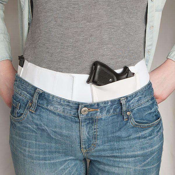 WaistBand Conceal Carry Holster (4 Sizes) White